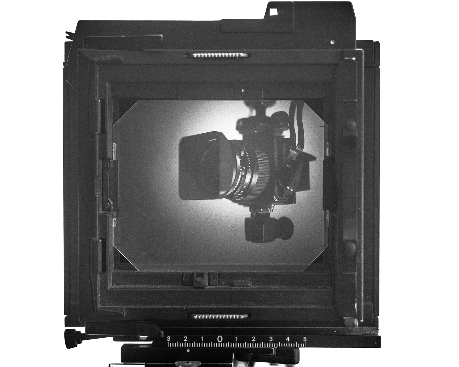Hasselblad SWC on 4x5