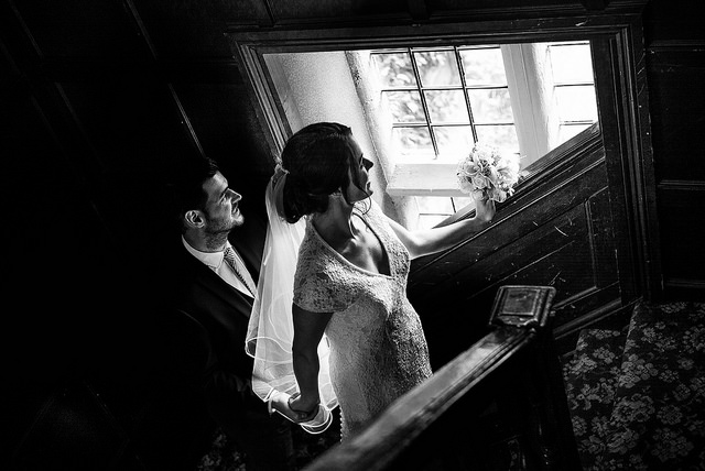 Elegant Black and White Wedding Photography - leica B&w