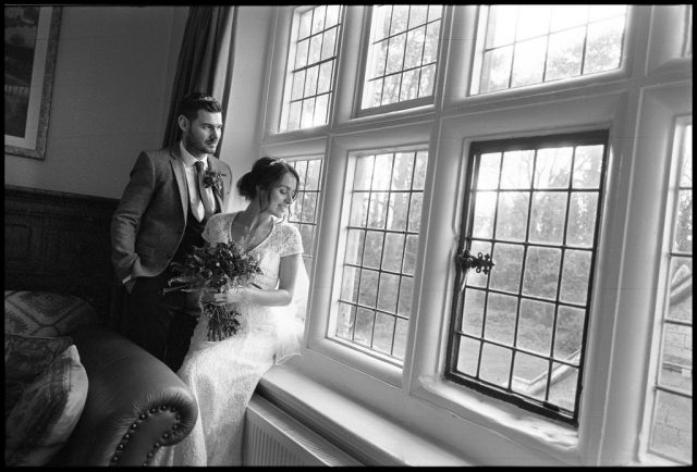 B&W Film Wedding Photography