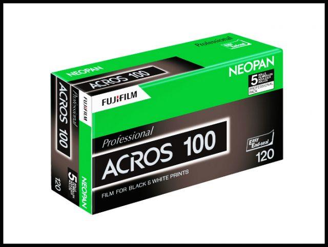 Fuji Acros 100 Discontinued