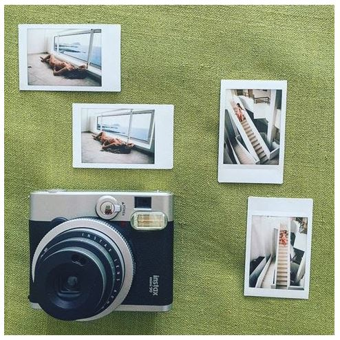 Fuji Instax Mini 90 Camera and Photos