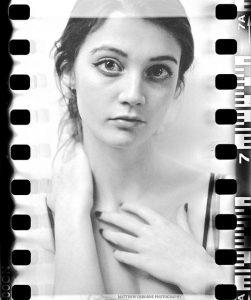 Negative to digital scan - 35mm film in fuji gf670 girl portrait
