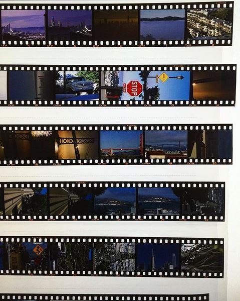 Negative to digital scan - 35mm slide film