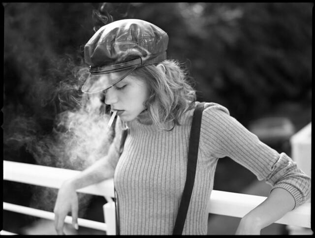 Ilford Delta 100 Review (35mm & 120 B&W Film Portraits)