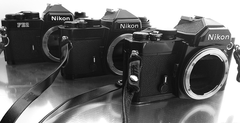 Nikon Fm vs Nikon FE vs Nikon FE2 camera review