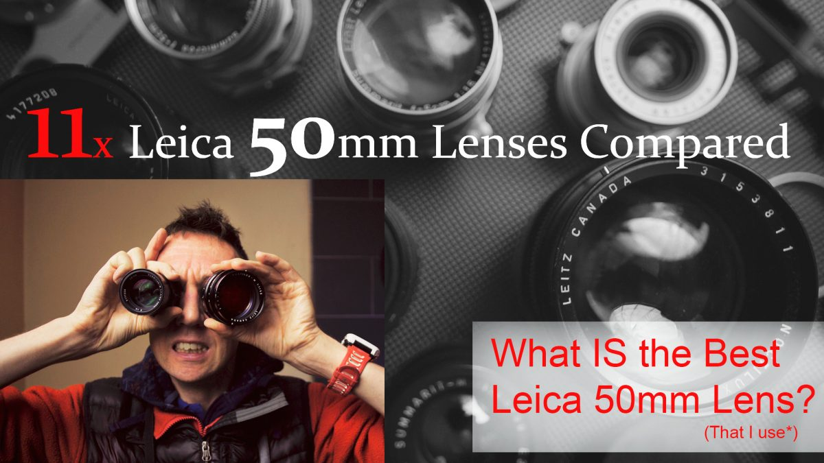 Leica M 50mm Lenses Compared (x11) +Leica Lens Guide!