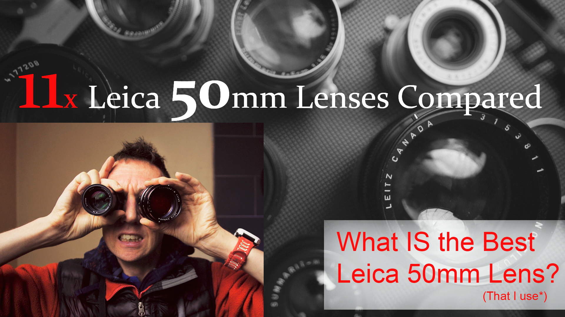 Leica M 50mm Lenses Compared