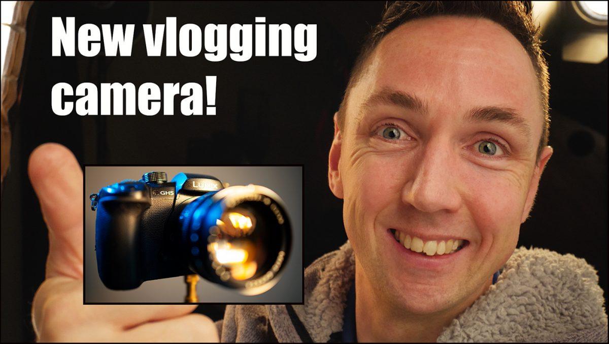 New Panasonic Lumix GH5 Vlogging Camera!