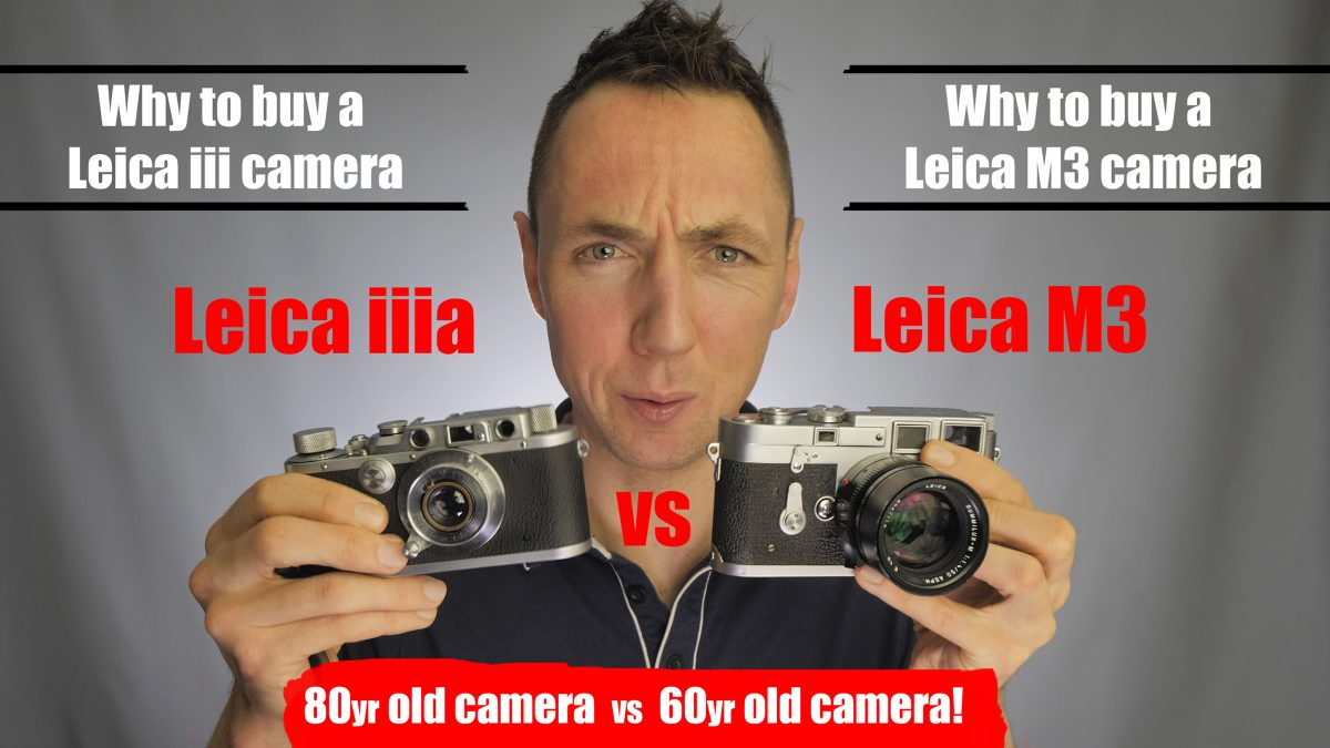 Leica iiia vs Leica M3 Review