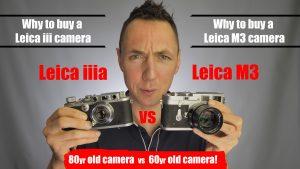 Leica iiia vs Leica M3 Review