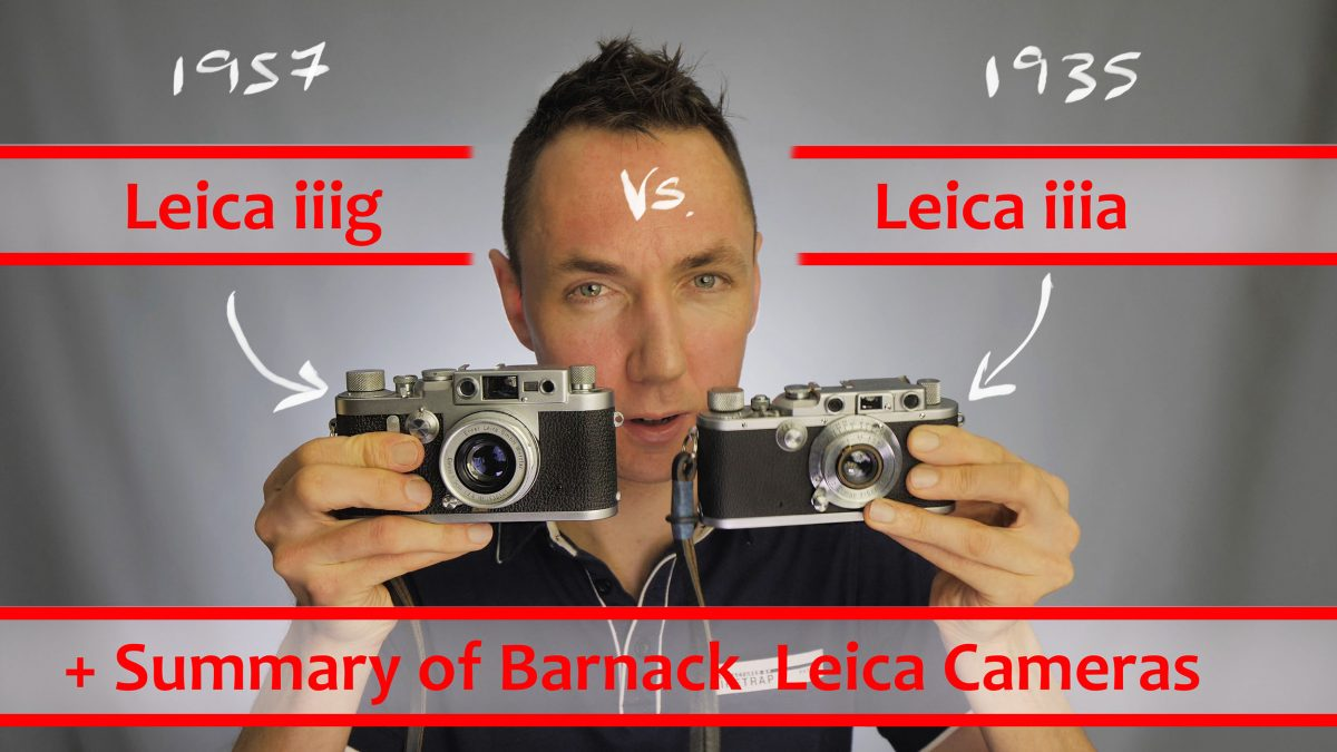 Barnack Leica Comparison YouTube Review