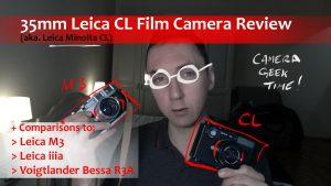 leica cl film camera review
