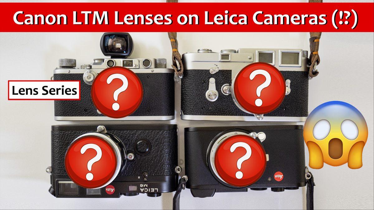 Canon LTM Lenses
