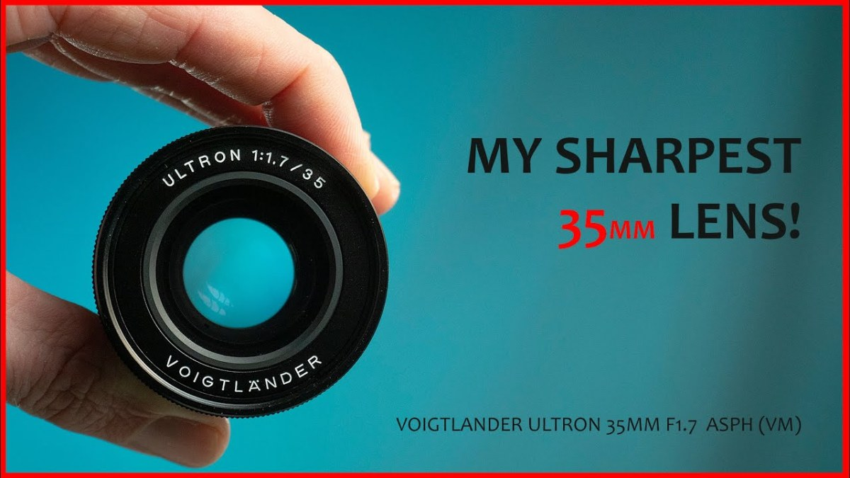Voigtlander Ultron 35mm f1.7 Review (VM for Leica) ASPH